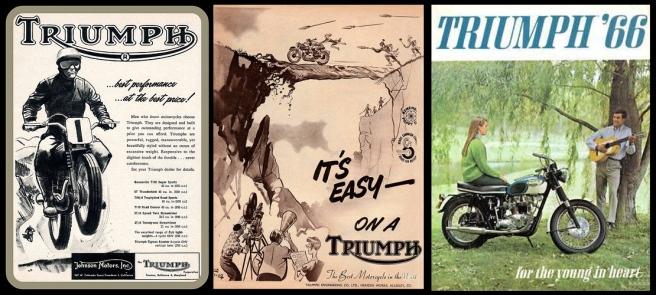 Publicités Triumph